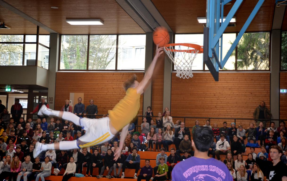 Dunking-Event